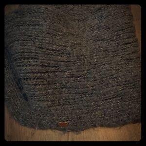 3/$20 Roxy infinity scarf charcoal grey